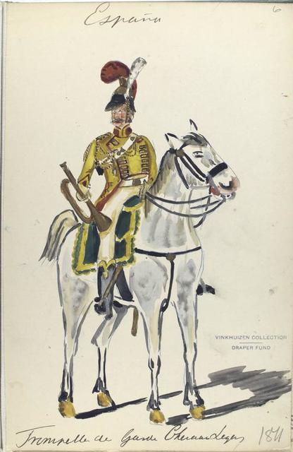 Trompeter der Garde Cheval [?] Leger. 1811