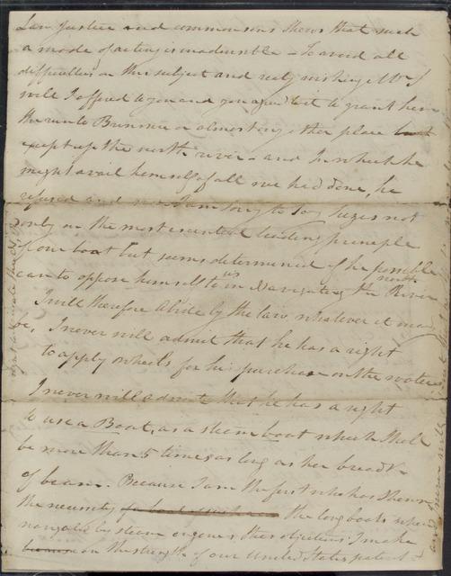 1808, Aug. 2, AL, draft, Robert Fulton at Washington to  [Robert R. Livingston?]