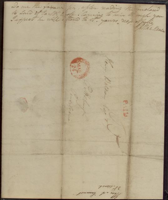 1815, March 23, Thomas Addis Emmet to Henry Baldwin