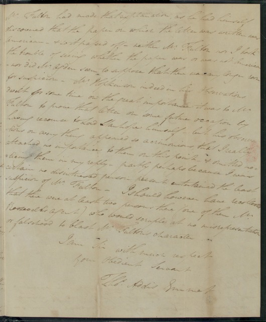 1815, March 23, Thomas Addis Emmet to Henry Baldwin