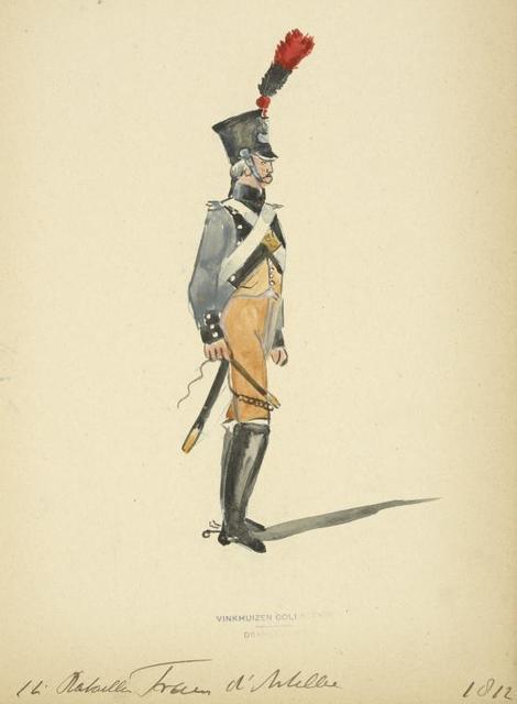 Holland (Domin. Française). 12 [?] Bataillon Train d'Artillerie. (1812)