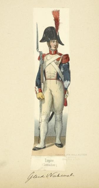 Holland (Domin. Française). Empire (Grenadier). Garde National. (1812)