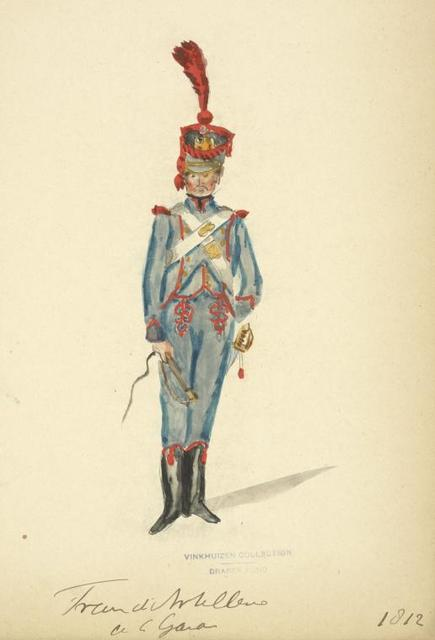 Holland (Domin. Française). Train d'Artillerie (de la Gala). (1812)