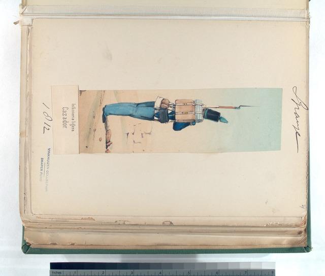 Infanteria ligera. Cazador. 1812