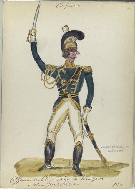 Officier di Cheva...  King Ga...e King Joseph Napoleon. 1812