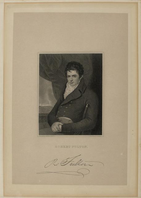 Portrait of Robert Fulton,