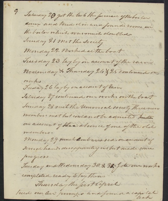 Selections from John Fitch's diary (January-June, 1790)