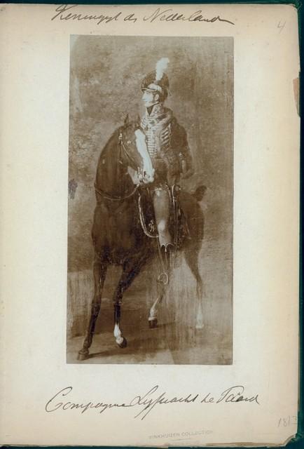 Koningryk der Nederlanden. Compagnie Lijfwacht te Paard. (1813)