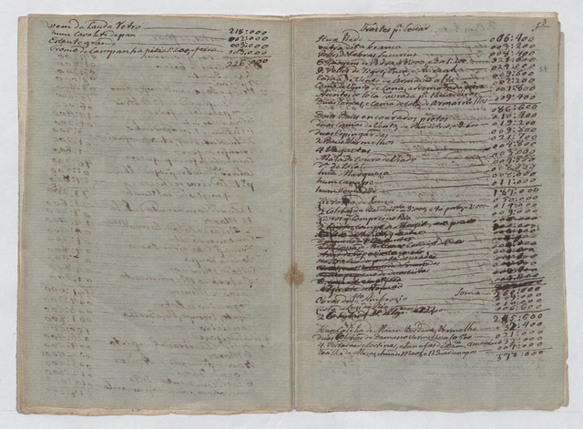 Manuscript of an officer of the highest class moving to Portugal