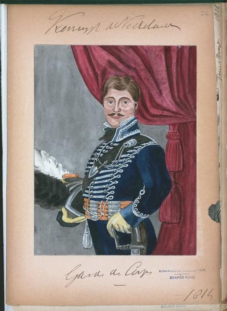 Koningrijk der Nederlanden. Garde de Corps. (1814)