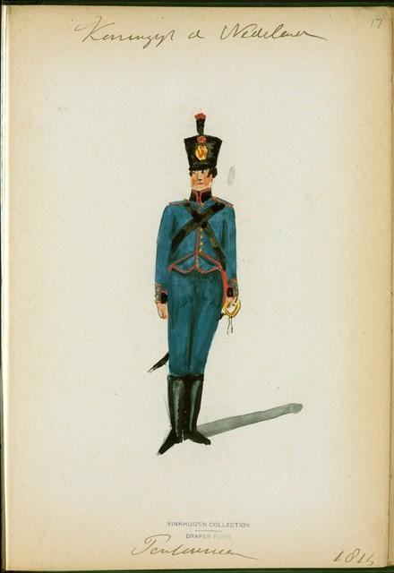 Koningrijk der Nederlanden. Pontonnier. (1814)