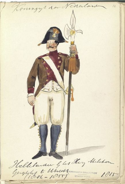 Koningrijk der Nederlanden. [Lancier], Utrecht (1815)