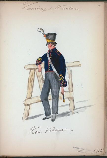 Koningrijk der Nederlanden. [...] Veteran. (1815)