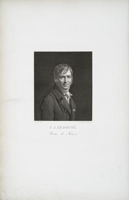 Pierre Joseph Redouté, peintre de fleurs.