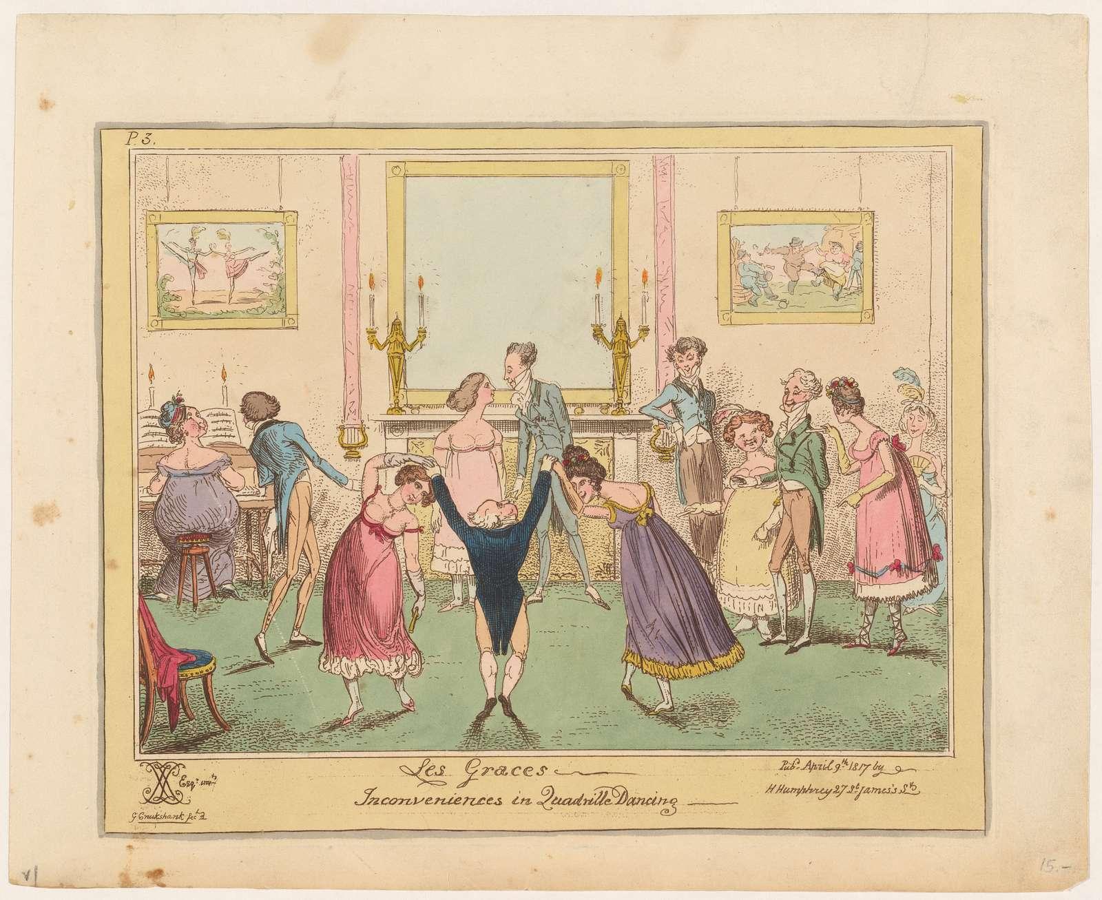 Graces: Inconveniences in quadrille dancing