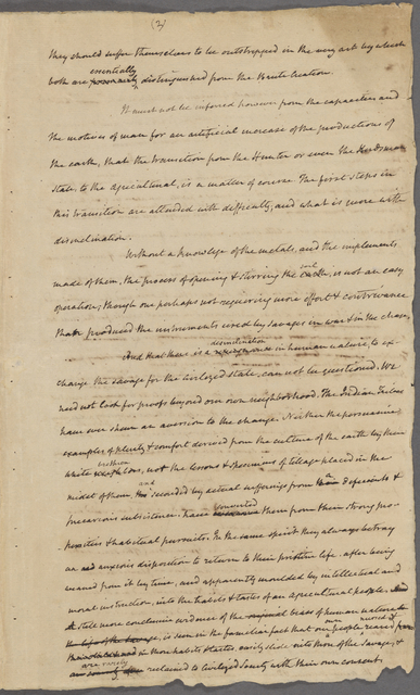 Manuscript of an address delivered before the Albermarle, Virginia Agricultural Society