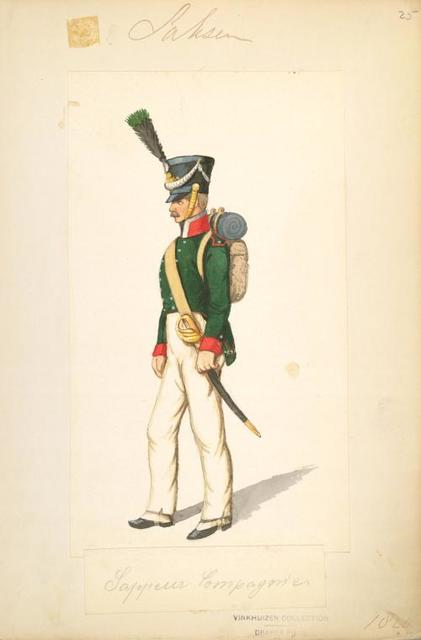 Germany, Saxony, 1820