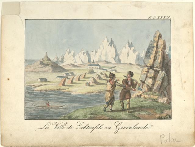La ville de Lichtenfels en Groenlande.