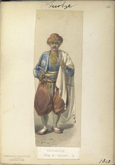 Turkey, 1820.
