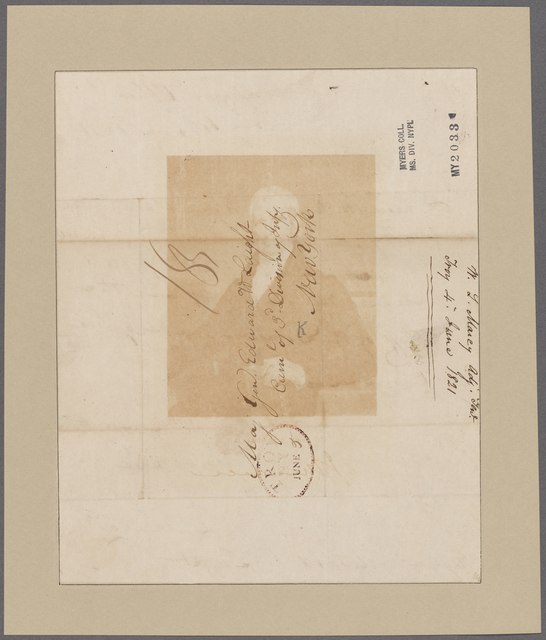 Marcy, William L. Adjt. General's Office. To Major General Edward W. Laight