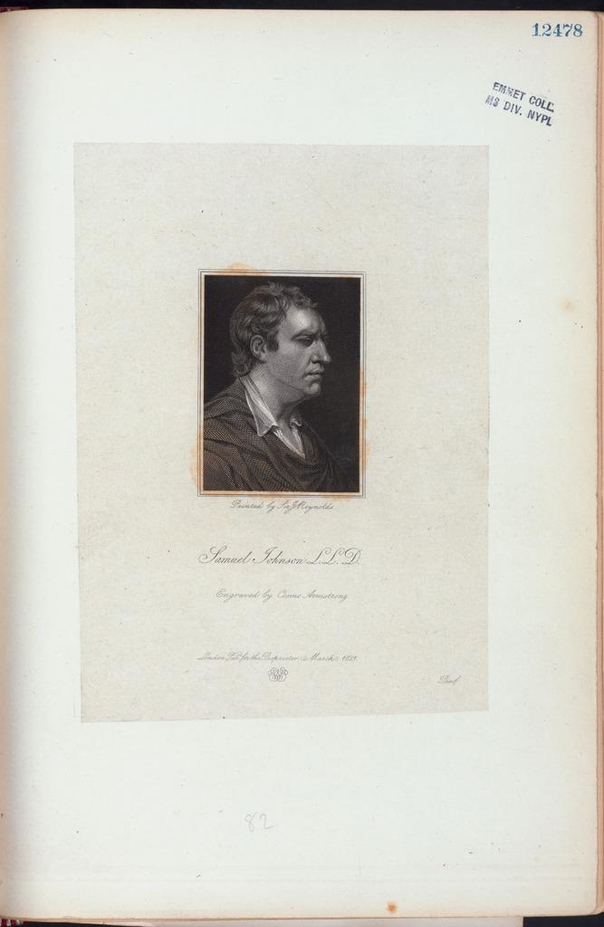 Samuel Johnson, L.L.D.