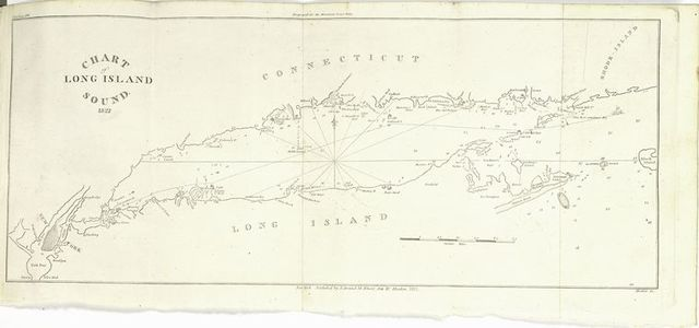 Chart of Long Island Sound, 1822