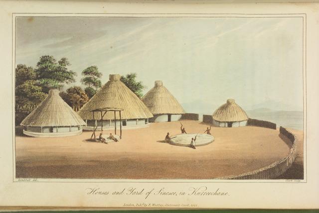 Houses and Yard of Sinosee, in Kurreechane