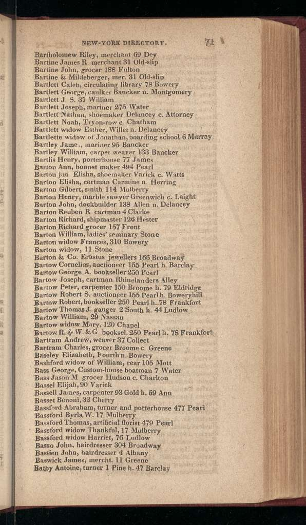 New York City directory, 1823/24