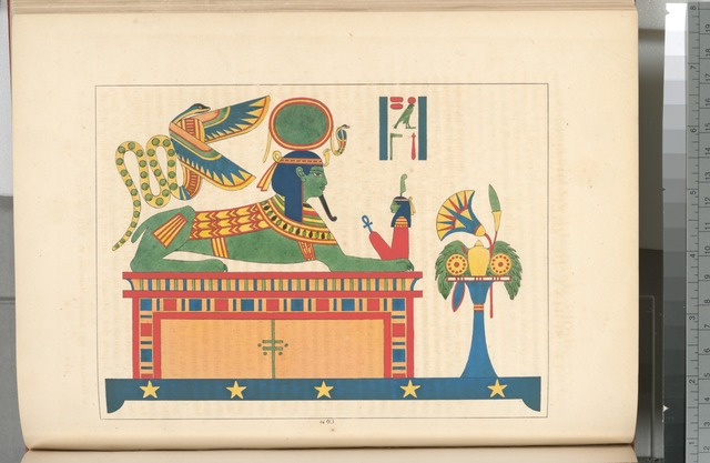 Le Sphinx du dieu Phre [Ra], ou du Soleil.