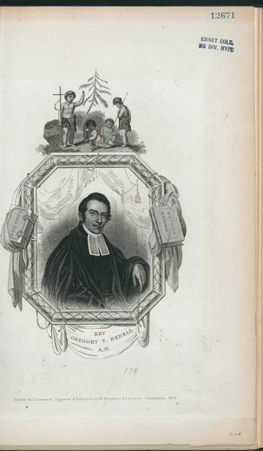 Rev. Gregory T. Bedell, A.M.