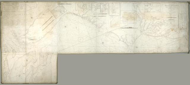 To the members of the Nautical Institution and Ship-masters' Society of the city of New York, this chart, extending from lat. 40º15{167} N., long. 72º15{167} W., to lat. 22º35{167} N., long. 80º25{167} W., is respectfully dedicated