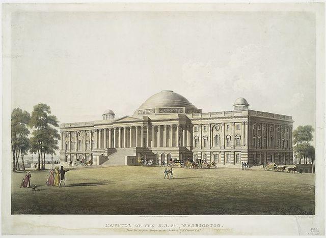 Capitol of the U.S. at Washington.