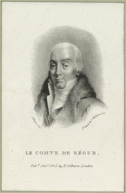 Le Comte de Ségur.
