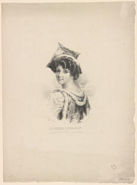Louise Pierson, dans le ballet Le carnaval de Venise: Ged. Lith. Institut in Wien