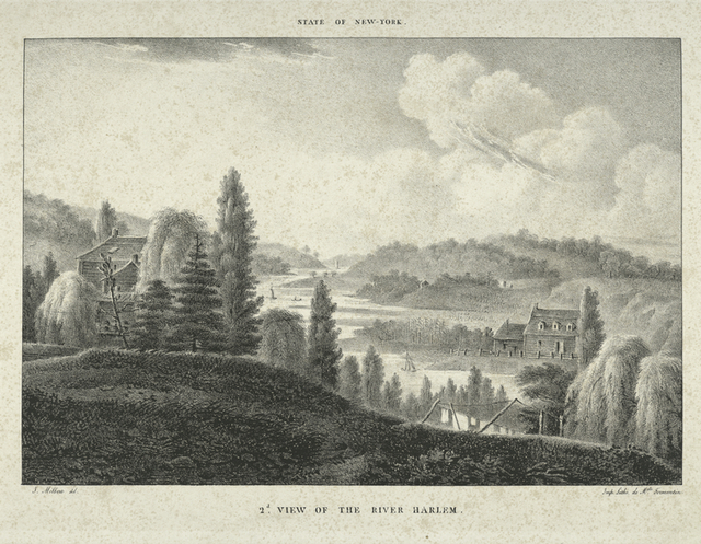 State of New-York.  2D.  View of the river Harlem.