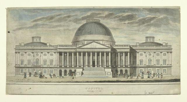 Capitol Washington, D.C. 1826.