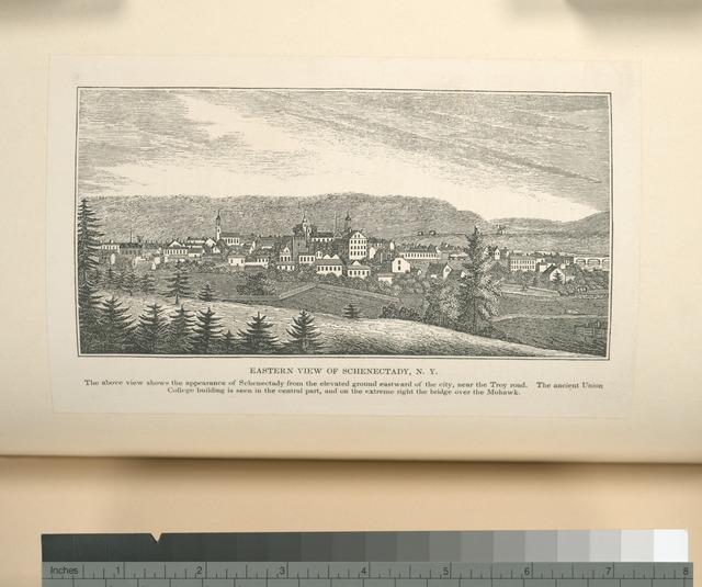 Eastern view of Schenectady, N.Y.