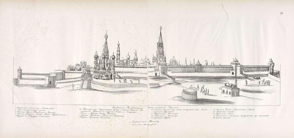 Izobrazhenie Velikokniazheskago Zamka, nazyvaemago Kremlem