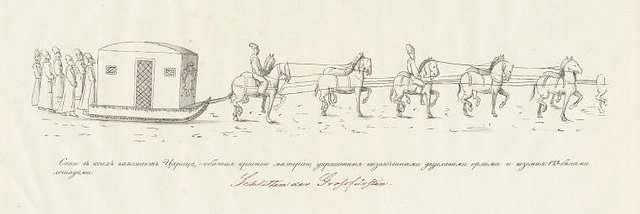 Sani, v koikh vyezzhaet Tsaritsa