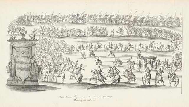 Vyezd Rimskago Poslannika v Moskvu byvshii 25 Maia 1661 goda