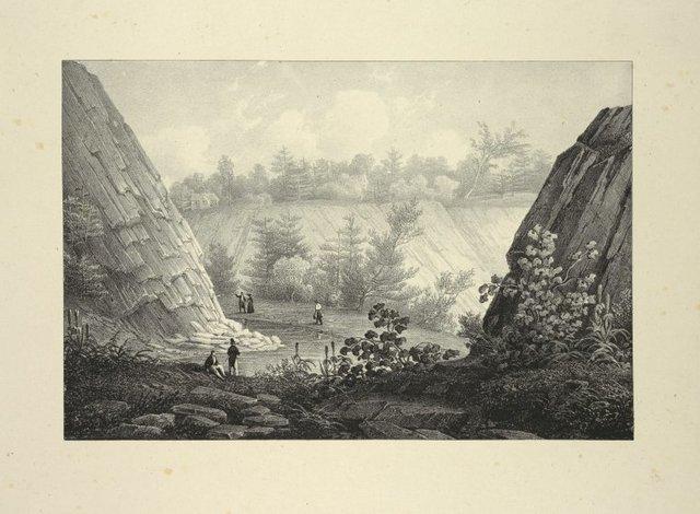 Commencement of Passaic Falls