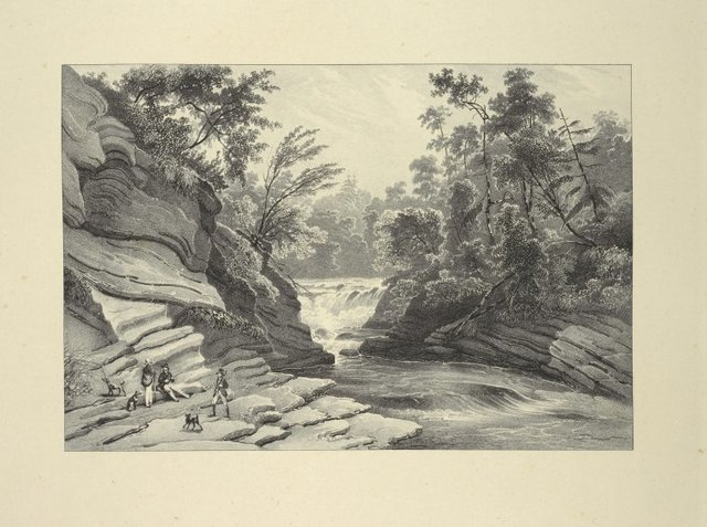 Commencement of the Falls of Canada Creek
