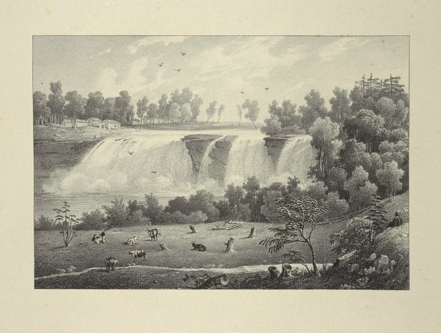 Falls on the Genesee rivers