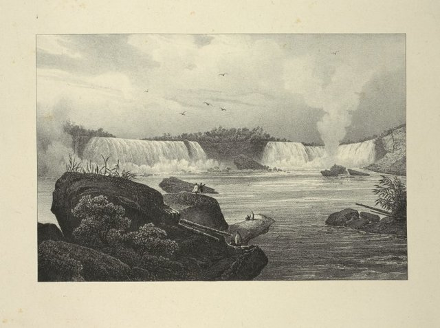 General view of Niagara from the Canadian side