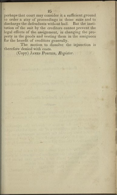 In the court for the trial of impeachments and the correction of errors: between Richard Abraham, impleaded with J. Thompson, appellant; and C.B. Plestow, and others: respondents
