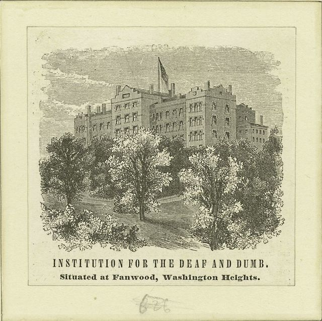 Institution for the Deaf and Dumb, situated at Fanwood, Washington Heights