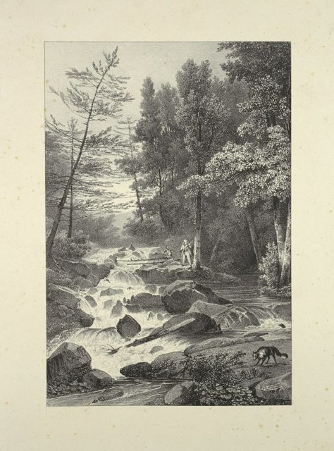Lower falls near the residence of Mr. Montgomery