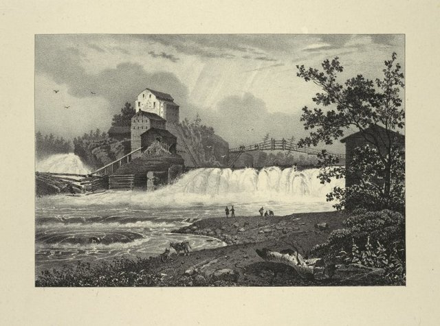 Mills on the Black River