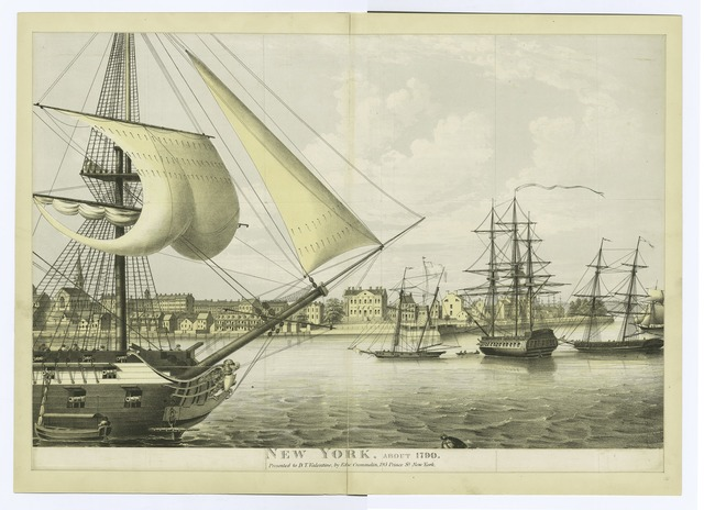 New York. About 1790