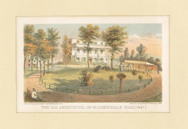 The Old Abbey Hotel on Bloomingdale Road (1847)